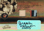2005 Absolute MOF Auto Swatch Double Prime