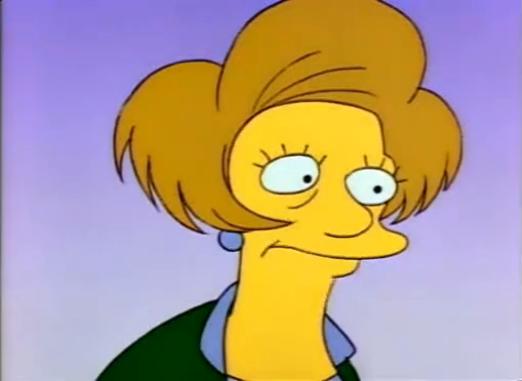 File:Edna Krabappel (First Appearance).png