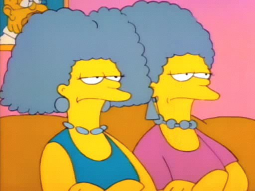 File:Patty & Selma Bouvier (First Appearance).PNG