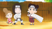Neji & Tenten make their appearence