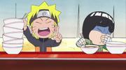Naruto's ramen obsession