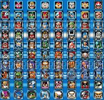 Megaman 8 bit bosses 1-10 no names