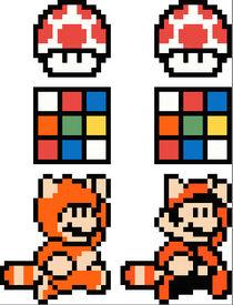 Rubiks Cube Mario