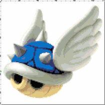 Mario kart blue shell