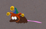 Bardic rat with bardic hat