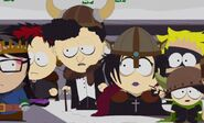 Goth kids attack the school