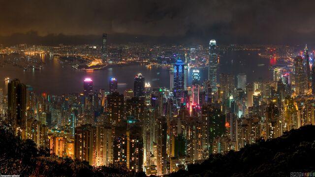 File:Hong kong at night 1920x1080.jpg