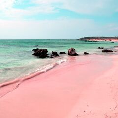 Pink Sand Beach, Greece