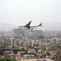 Plane over Hong Kong!!!