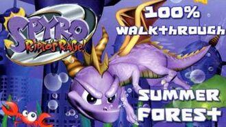 Spyro 2- Ripto's Rage! 100% Walkthrough - 2 - Summer Forest