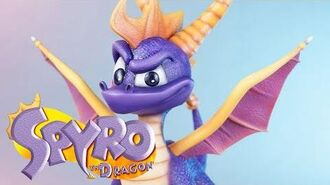 First4Figures Spyro the Dragon Collectible Statue Trailer
