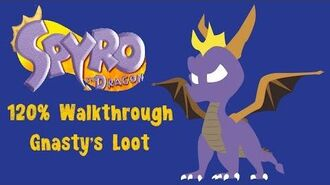 Spyro the Dragon 120% Walkthrough - 35 - Gnastys Loot