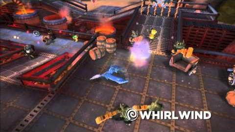 Meet the Skylanders Whirlwind (extended)