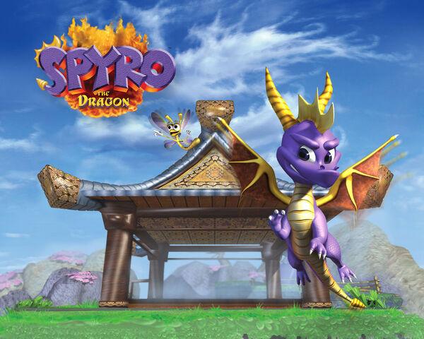 File:Spyro the Dragon Dojo Wallpaper.jpg