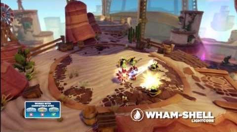 Meet the Skylanders LightCore Wham Shell