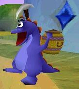 Indigo Lizard