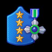 Badge Military Level 103