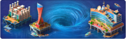 Whirlpool of Events Background