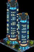 """""""Aurora"""" Residential Complex (Night)"""