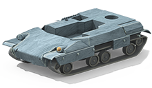 MP-24 Medium Tank Construction