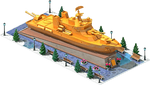 Gold LCS-48 Coastal Ship