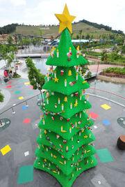 RealWorld Malaysian Christmas Tree