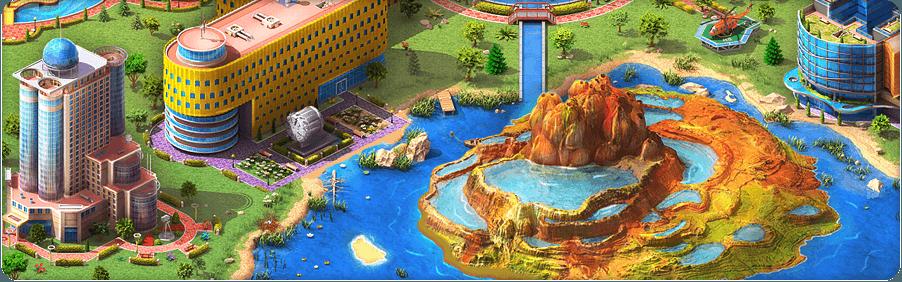 Incredible Geyser Background