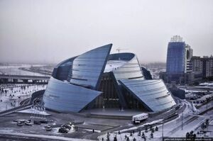 Concert Hall in Astana Kazakhstan.