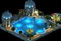 Cancun Pool (Night)