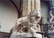 RealWorld Lion Statue