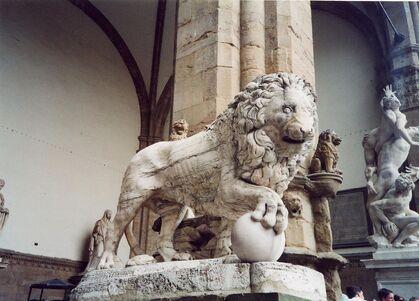 File:RealWorld Lion Statue.jpg