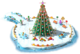 Floating Christmas Tree L2