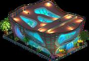 Nighttime Aquarium