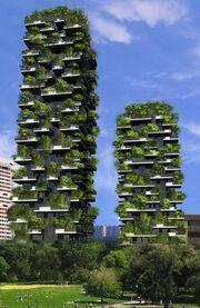 RealWorld Vertical Forest Hotel