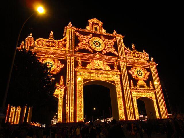 File:RealWorld Seville Fair Gates.jpg