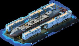 NS-64 Nuclear Submarine Construction