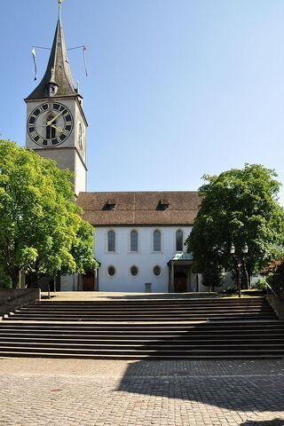 File:RealWorld St. Peter Church in Zurich.jpg