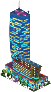 U-Bora Tower (Night)