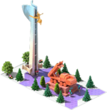 Bronze CMS-38 Monument