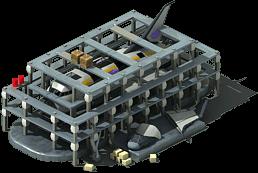 OS-37 Orbital Shuttle Locked