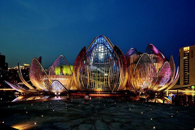 File:RealWorld Wujin Lotus Conference Center (Night).jpg