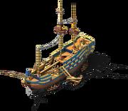 Pirate Frigate Construction