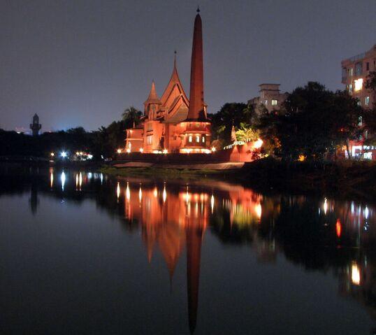 File:RealWorld Dhanmondi Palace (Night).jpg