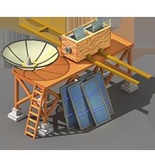 CS-25 Communications Satellite Construction