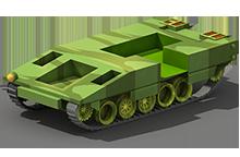 MP-43 Medium Tank Construction