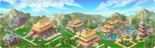 Mysterious City Background