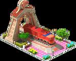 Bronze Schenectady Locomotive Arch