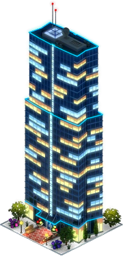 Landmark Tower (Night)