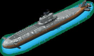NS-24 Nuclear Submarine L1