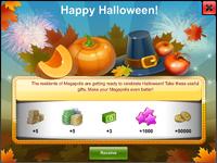 Halloween's Day Start Gift